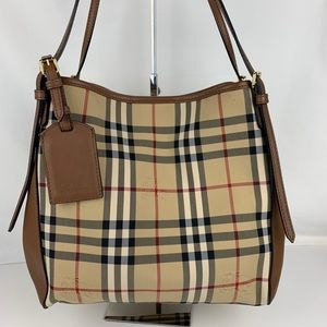 New Burberry Horseferry Small Canterbury Tote